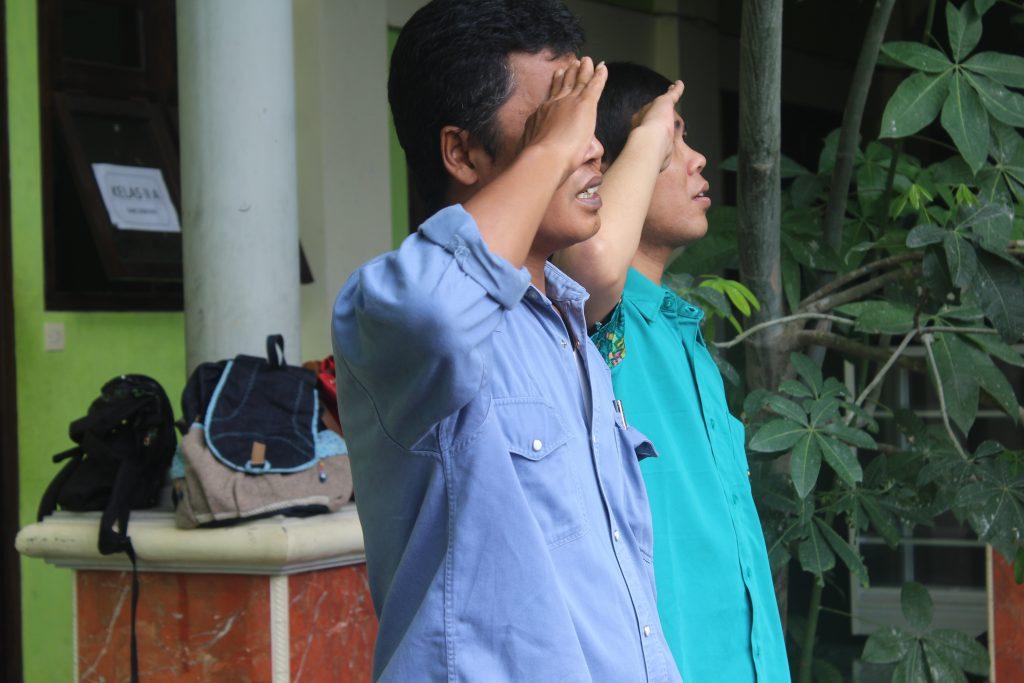 Upacara Sumpah Pemuda SMK AL-KHOZINI